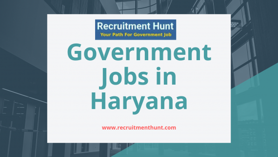 govt jobs in haryana and chandigarh