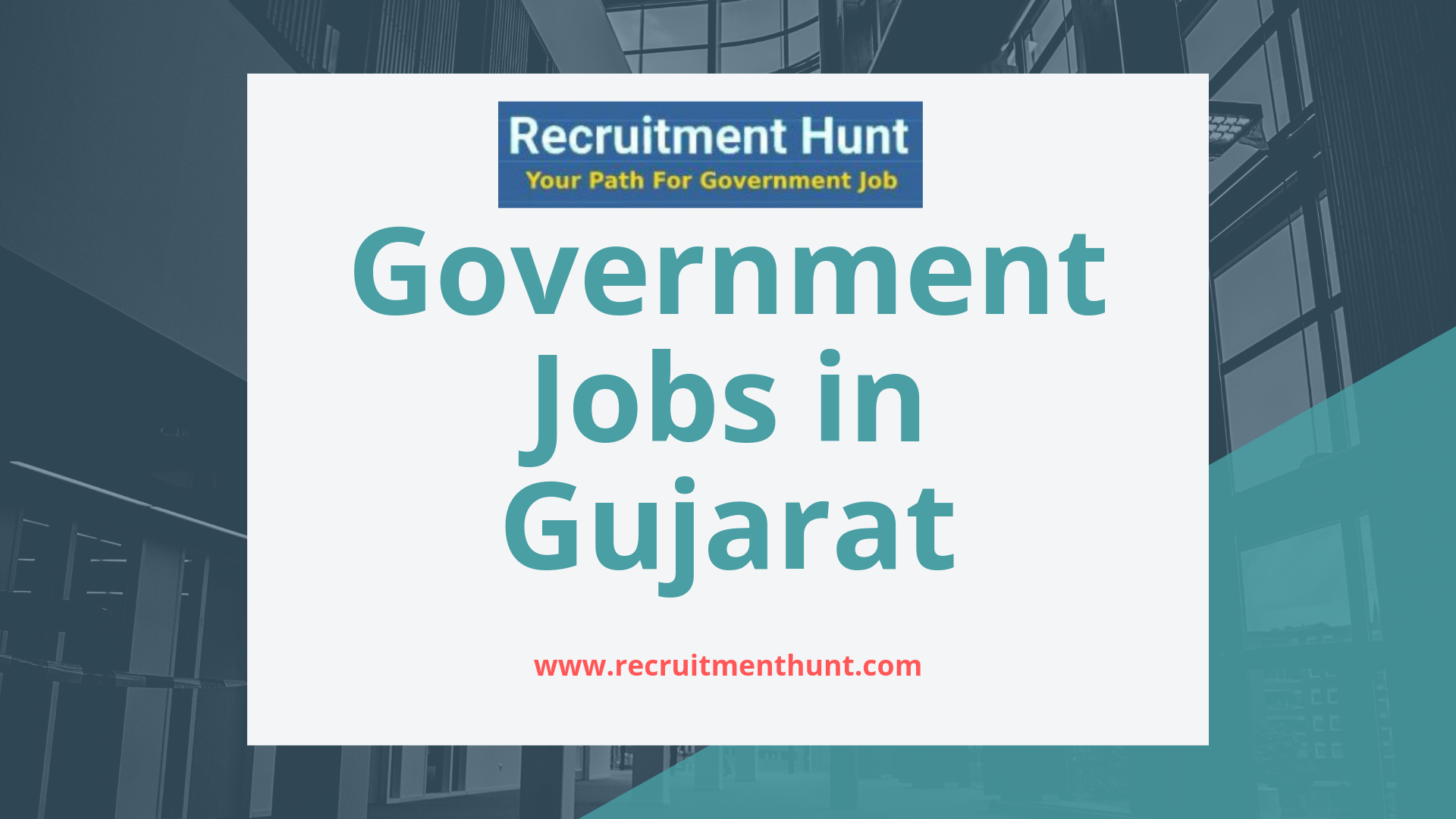 government jobs in gujarat 2019