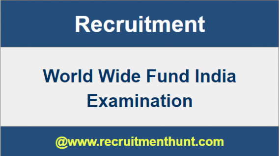 WWF World Wide Fund for Nature Recruitment