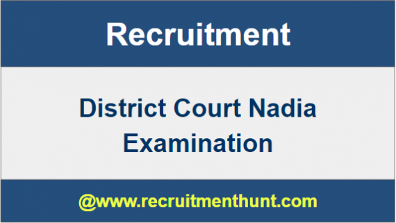 Dist Court Nadia Job Vacancy